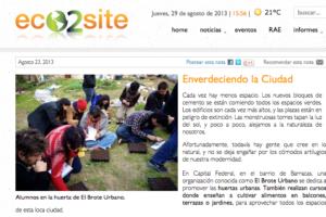 Eco2site - Agosto 2013